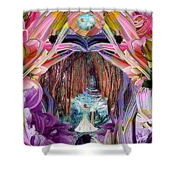 Fairy And Unicorn  Shower Curtain
