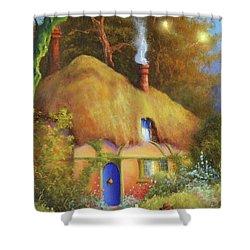Fairy Cottage Shower Curtain