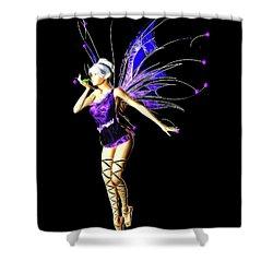 Fairy, Digital Art By Mb Shower Curtain