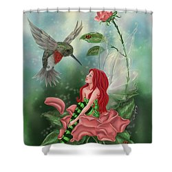 Fairy Dust Shower Curtain