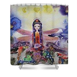 Fairy Garden  Shower Curtain