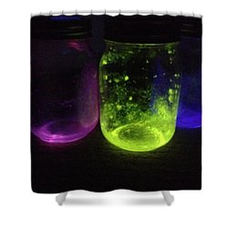 Fairy Jars Shower Curtain