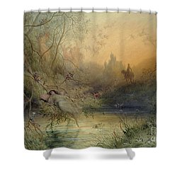 Fairy Land Shower Curtain by Gustave Dore