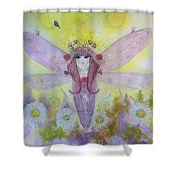 Fairy Messenger  Shower Curtain