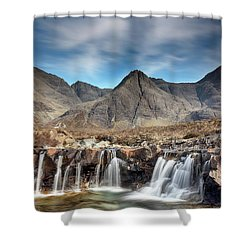 Shower Curtain featuring the photograph Fairy Pools - Isle Of Skye by Grant Glendinning