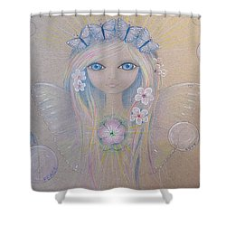 Fairy Song  Shower Curtain