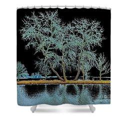 Fairy Tree-1 Shower Curtain