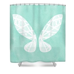 Fairy Wings- Art By Linda Woods Shower Curtain