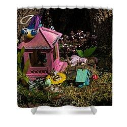 Fairy World 4 Shower Curtain