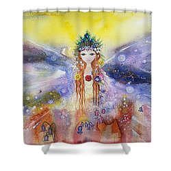 Fairy World Shower Curtain