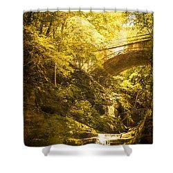 Fairyland In Matthiessen Shower Curtain by Kathleen Scanlan