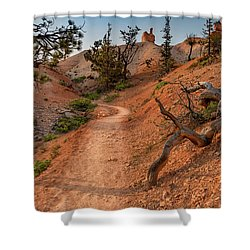 Fairyland Loop Trail Shower Curtain