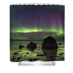 Fairytale Beach Shower Curtain