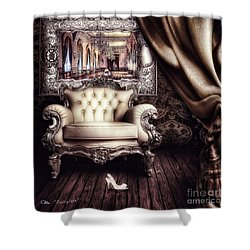 Fairytale Shower Curtain by Mo T