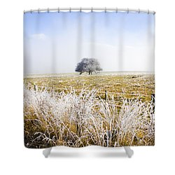 Shower Curtain featuring the photograph Fairytale Winter In Fingal by Jorgo Photography - Wall Art Gallery