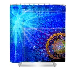 Faith Shower Curtain by Kenneth Armand Johnson
