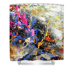 Faith Remains Shower Curtain
