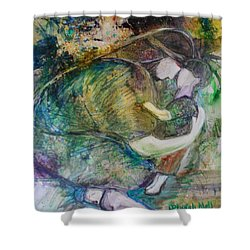 Faithful Father Shower Curtain