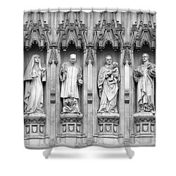 Shower Curtain featuring the photograph Faithful Witnesses - 2 by Stephen Stookey