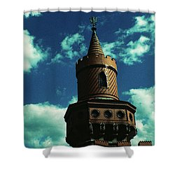 Fake German Castle Or Oberbaumbruecke Shower Curtain