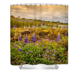 Zapata Falcon Lake 2 Shower Curtain