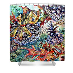 Fall Affair Shower Curtain