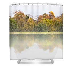 Fall And Fog Shower Curtain