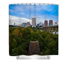 Fall Approaching In Richmond Shower Curtain