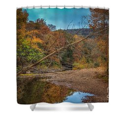Fall At Barkers Gap Shower Curtain