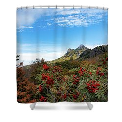 Fall At Grandfather Mountain Shower Curtain