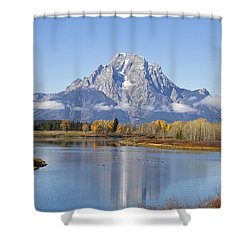 Fall At Teton -1 Shower Curtain