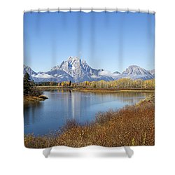 Fall At Teton -2 Shower Curtain