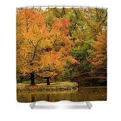 Fall At The Arboretum Shower Curtain