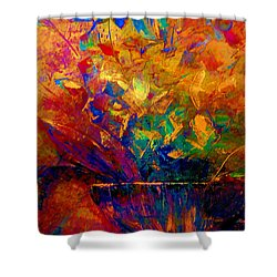 Fall Bouquet  Shower Curtain by Lisa Kaiser