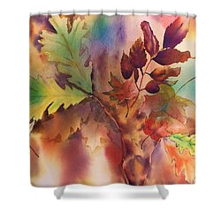 Fall Bouquet Shower Curtain