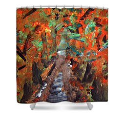 Fall By Colleen Ranney Shower Curtain