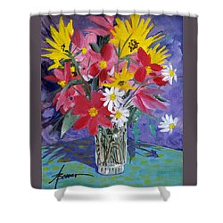 Fall Collection  Shower Curtain