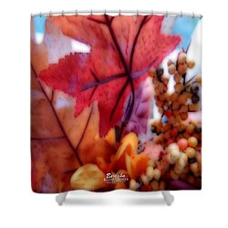 Fall Colors # 6059 Shower Curtain by Barbara Tristan