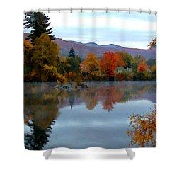 Fall Colors Shower Curtain by Dan McManus