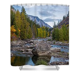 Fall Colors In The Canyon Shower Curtain