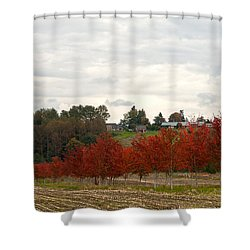 Fall Country Shower Curtain