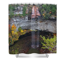 Fall Creek Falls 265 Feet Shower Curtain