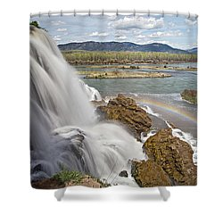 Fall Creek Falls Shower Curtain