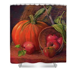 Fall Display Shower Curtain