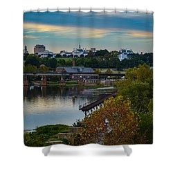 Fall Evening In Richmond Shower Curtain
