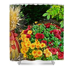 Fall Fantasy Shower Curtain by Randy Rosenberger