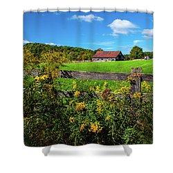Fall Farm Shower Curtain