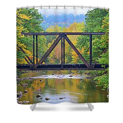 Fall Fascination Shower Curtain