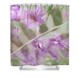 Fall Feather Shower Curtain