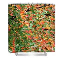 Fall Festivities Shower Curtain